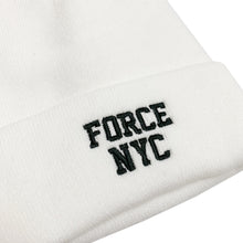 "Load image into Gallery viewer, 【50%OFF】NIKE FORCE NYC Knit Beanie ""White"""