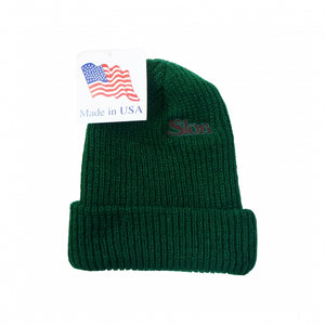 "SLON Logo Embroidered Beanie ""Beef & Broccoli"""