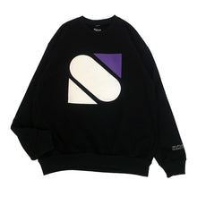 "Load image into Gallery viewer, 【50%OFF】SLON ""S"" 14oz Crewneck Sweatshirt ""Black"""