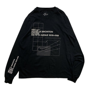 "NIKE NYC HOUSE OF INNOVATION L/S Tee ""Black"""