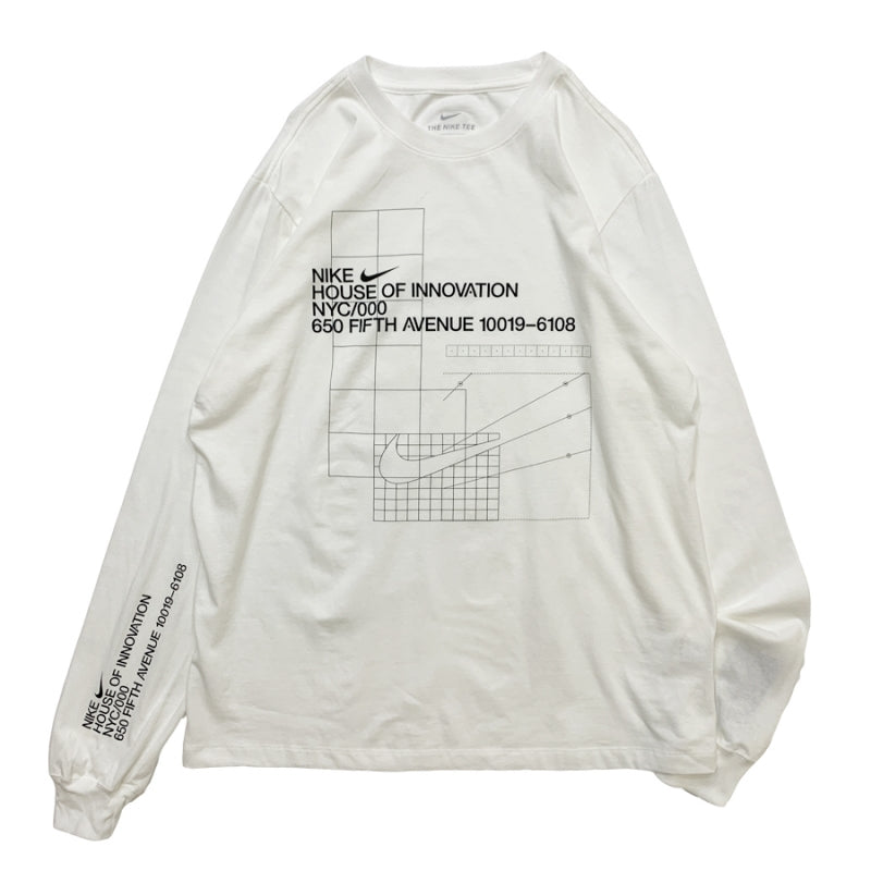 NIKE NYC HOUSE OF INNOVATION L/S Tee