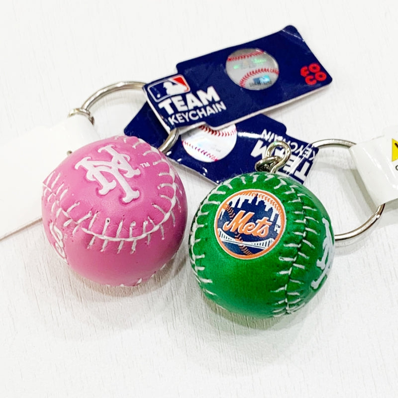 New York Mets Team Ball Keychain