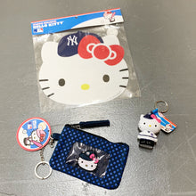 Load image into Gallery viewer, New York Yankees x Hello Kitty Keychain