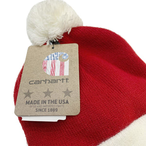 Carhartt Holiday Knit Pom Beanie