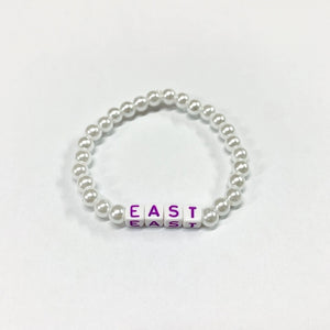 "FUK'S SWEETHEART Beads Bracelet ""EAST"""