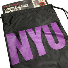 Load image into Gallery viewer, NYU Doubleheader Backpack