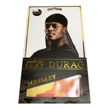 Load image into Gallery viewer, SILKY Military Du-Rag