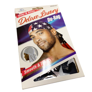 "Silky & Shiny Deluxe Luxury Du-Rag ""Pattern"""