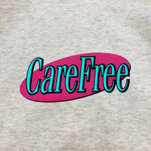 "Load image into Gallery viewer, CareFree Logo Crewneck Sweatshirt ""Oatmeal"""