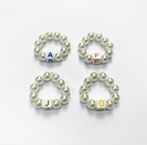 "FUK'S SWEETHEART Beads Ring ""MTA SUBWAY TRAIN"""