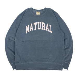 "【30%OFF】Peace & Quiet NATURAL Sweatshirt ""Indigo"""