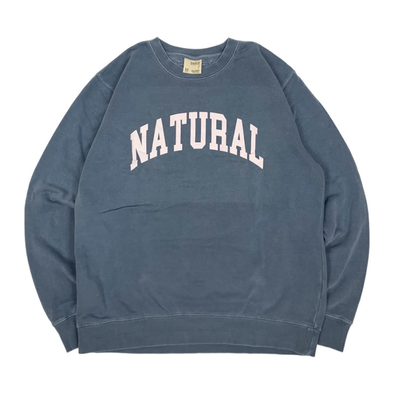【30%OFF】Peace & Quiet NATURAL Sweatshirt
