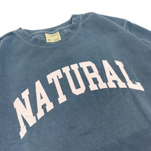 "Load image into Gallery viewer, 【30%OFF】Peace & Quiet NATURAL Sweatshirt ""Indigo"""
