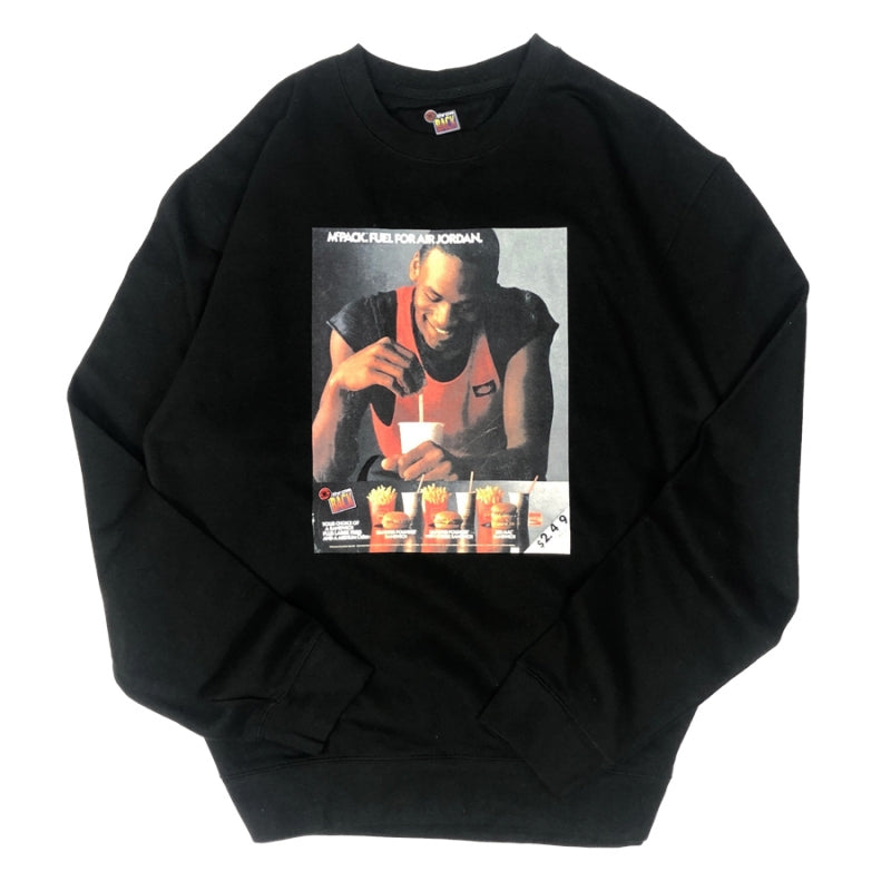 Mr. Throwback NYC Crewneck Sweatshirt - MJ Micky Ds Design