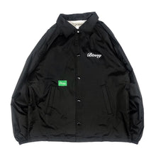"Load image into Gallery viewer, 【20%OFF】BTNNY KNOWLEDGE IS POWER Coach's Jacket ""Black"""