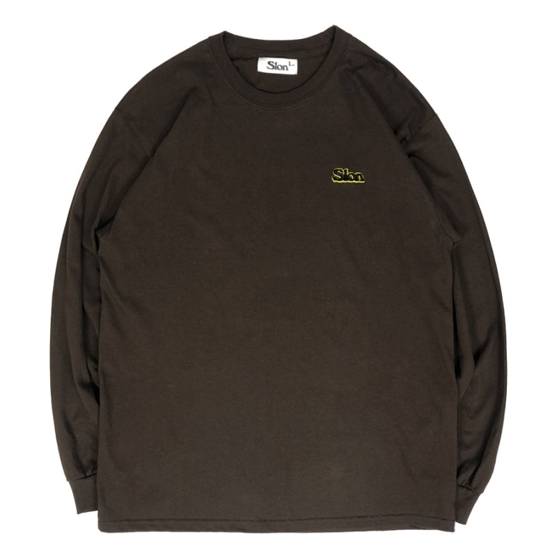 SLON Throwback L/S Tee 3D Embroidered Logo