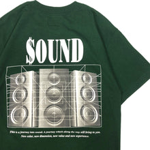 "Load image into Gallery viewer, BTNNY $OUND Tee ""Green"""