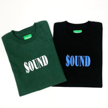"Load image into Gallery viewer, BTNNY $OUND Tee ""Black"""