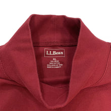 Load image into Gallery viewer, L.L. Bean Vintage Mock Neck L/S Tee