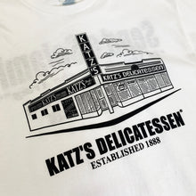 "Load image into Gallery viewer, KATZ'S DELICATESSEN Original S/S Tee ""White"""