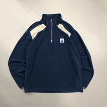 Load image into Gallery viewer, New York Yankees Light Weight Quarter Zip Fleece Shirt