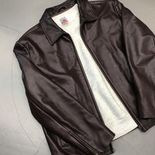 Load image into Gallery viewer, Banana Republic Leather Jacket