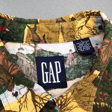 Load image into Gallery viewer, GAP Vintage All Over Printed L/S Shirt