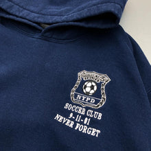 Load image into Gallery viewer, NYPD Soccer Club Pullover Hoodie