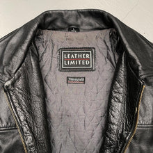 Load image into Gallery viewer, LEATHER LIMITED Vintage Thinsulate Leather Jacket