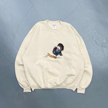 Load image into Gallery viewer, Vintage Embroidered Crewneck Sweatshirt