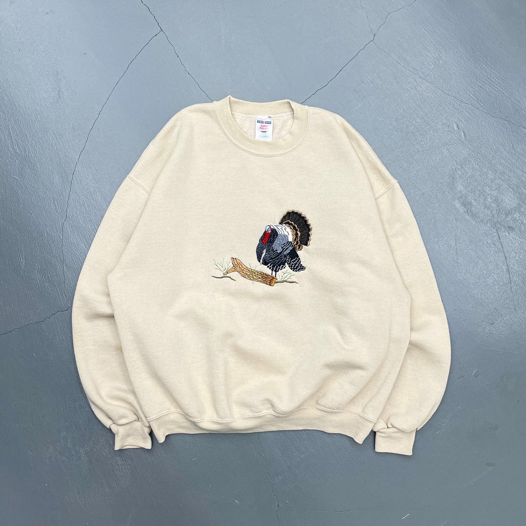 Vintage Embroidered Crewneck Sweatshirt