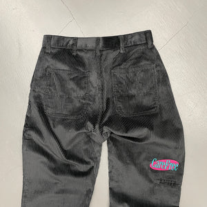 CareFree Logo Wide Corduroy Pants