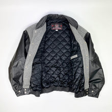 Load image into Gallery viewer, Coors LIGHT Premium Beer x JH Design Wool/Leather Varsity Jacket
