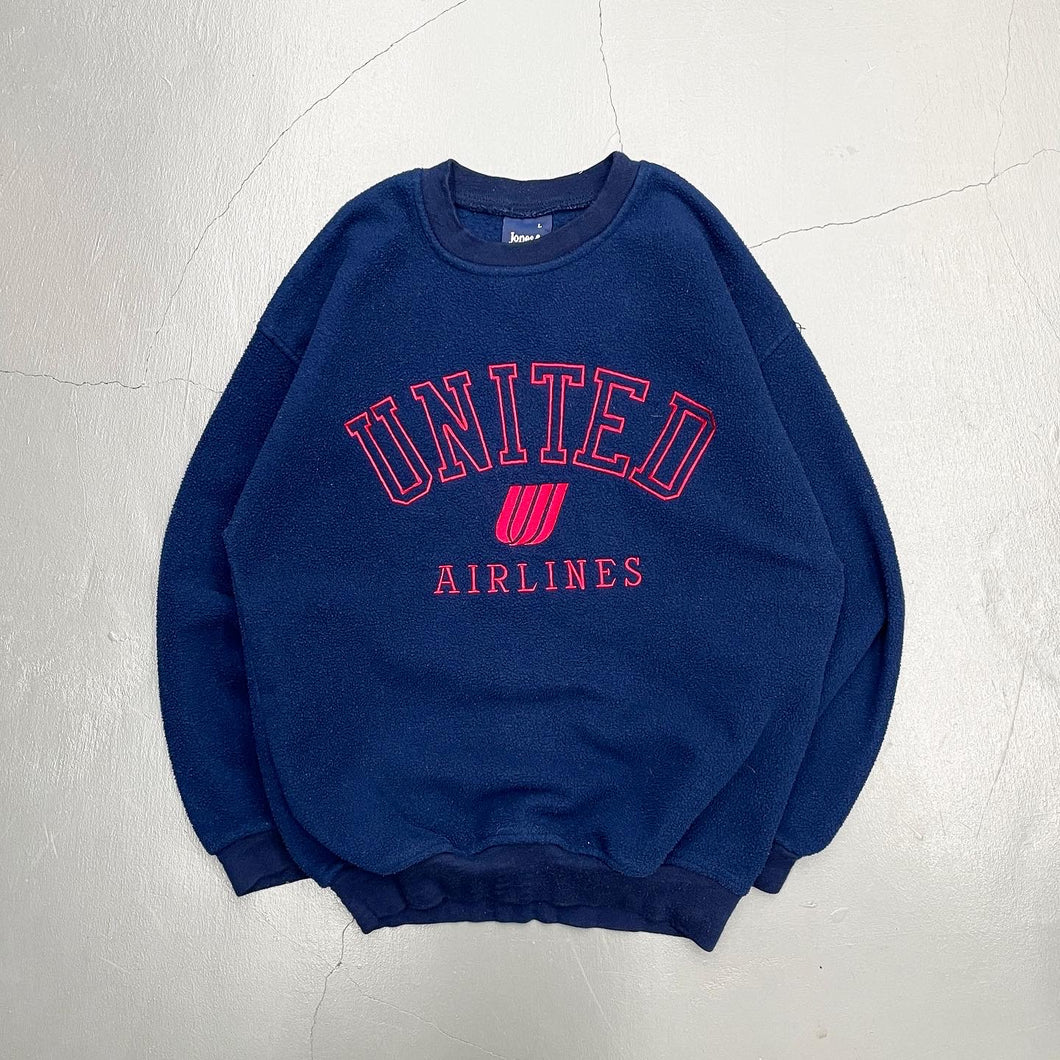 United Airlines Employees Pullover Fleece Shirt