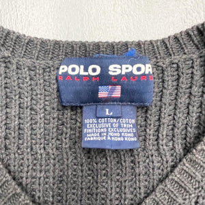 POLO SPORT Vintage Cotton Knit Sweater