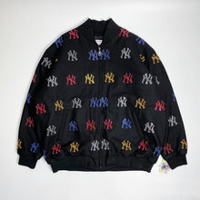 Load image into Gallery viewer, New York Yankees DeadStock G-III Line Stoned Wool Stadium Jacket