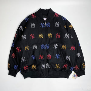 New York Yankees DeadStock G-III Line Stoned Wool Stadium Jacket