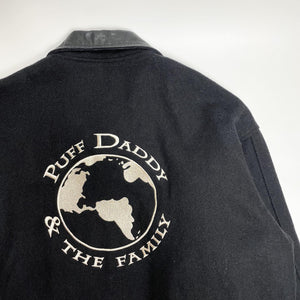 "Puff Daddy & The Family ""No Way Out"" World Tour 1998 Vintage Wool Jacket"