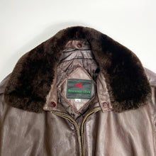 Load image into Gallery viewer, Abercrombie & Fitch Vintage Leather Jacket