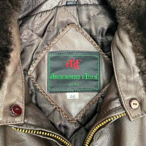 Abercrombie & Fitch Vintage Leather Jacket