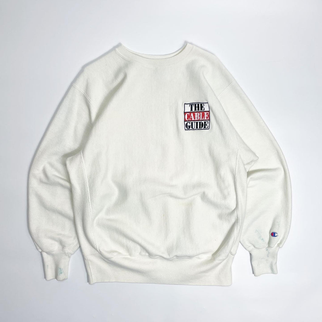 The Cable Guide Champion Reverse Weave Crewneck Sweatshirt