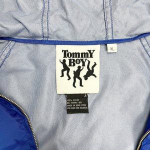 Tommy Boy Records Vintage Nylon Hoodie Jacket