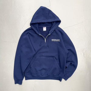 NYU Langone Medical Center Radiology Quarter Zip Hoodie