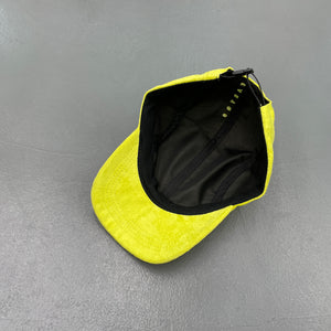 "EasyGo Athletics ""Safety Meeting"" 6 Panel Cap / Chartreuse Suede 4 Panel Cap"