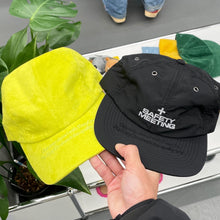 "Load image into Gallery viewer, EasyGo Athletics ""Safety Meeting"" 6 Panel Cap / Chartreuse Suede 4 Panel Cap"