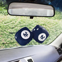 Load image into Gallery viewer, New York Yankees DeadStock Dice Car Mirror Accessory Plush