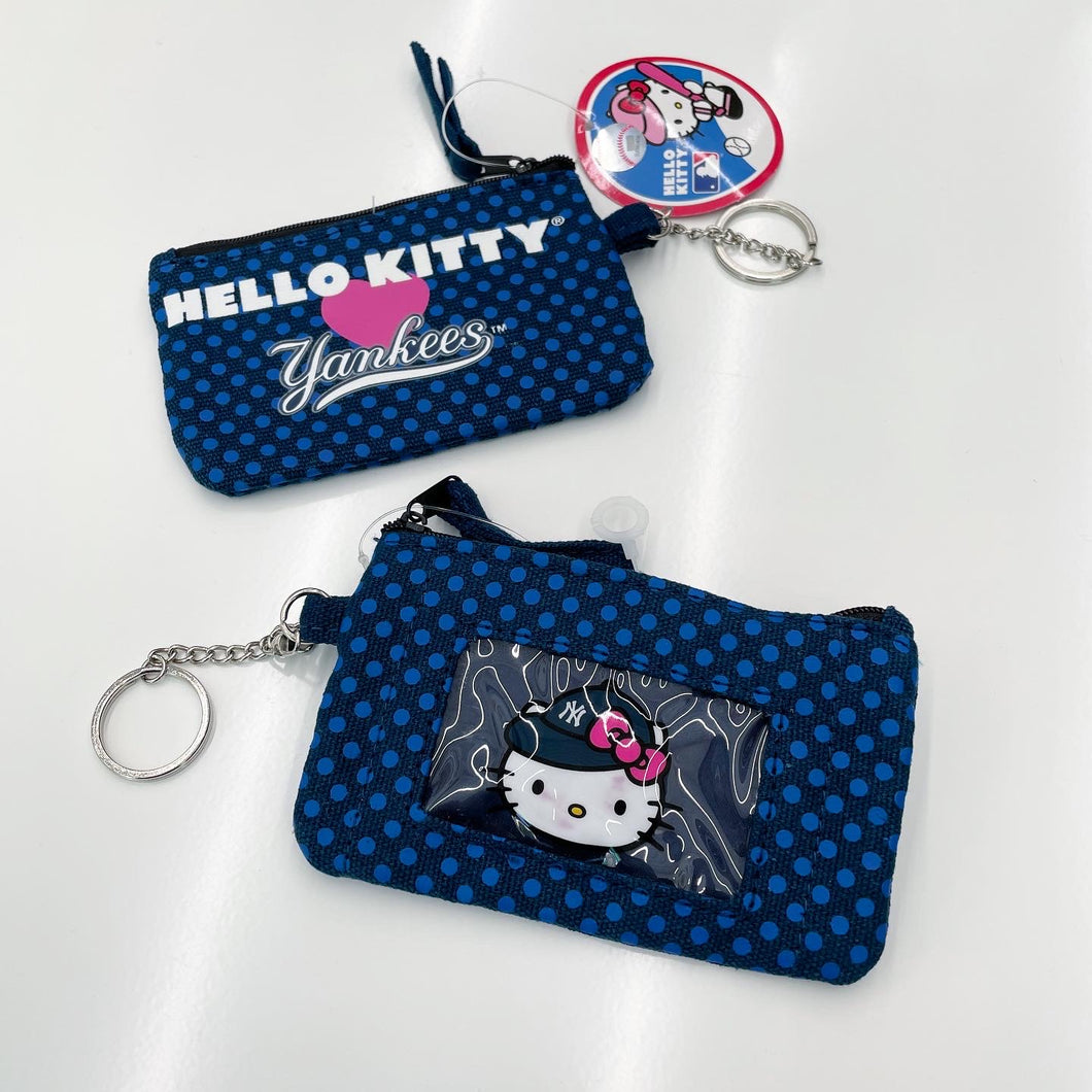 New York Yankees x Hello Kitty Keychain Coin Purse