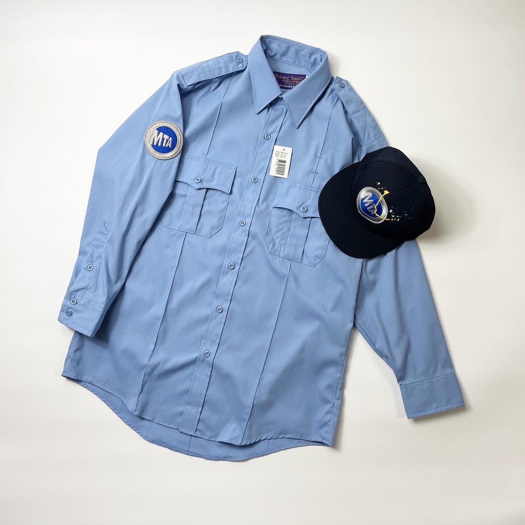 MTA Employees BD Shirt / Fitted Cap customized by @loackar