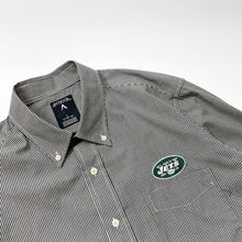 Load image into Gallery viewer, New York Jets Gingham Check BD Shirt