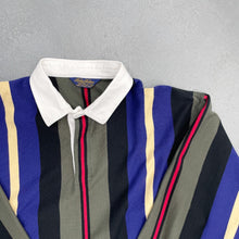 Load image into Gallery viewer, BROOKS BROTHERS Striped L/S Rugby Shirt